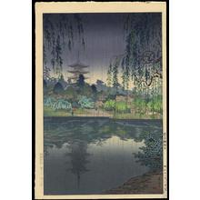 Tsuchiya Koitsu: Nara Kofukuji Temple - 奈良興福寺 - Ohmi Gallery