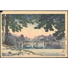Tsuchiya Koitsu: Nijubashi Bridge - Ohmi Gallery