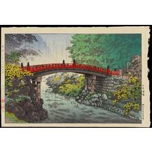 風光礼讃: Nikko Sacred Bridge - 日光神橋 - Ohmi Gallery
