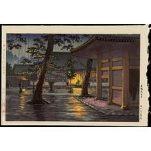 Tsuchiya Koitsu: Takanawa Sengakuji Temple - Ohmi Gallery