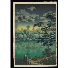 Tsuchiya Koitsu: Ueno Shinobazu Pond - 上野不忍の池 - Ohmi Gallery