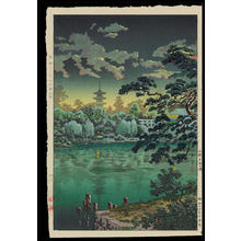 風光礼讃: Ueno Shinobazu Pond - 上野不忍の池 - Ohmi Gallery