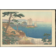 風光礼讃: The Mouth of Banyu River - 馬入川 川口 - Ohmi Gallery