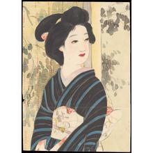 無款: Bijin By Screen (1) - Ohmi Gallery