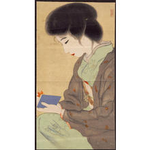 Unknown: Bijin Reading (1) - Ohmi Gallery