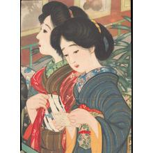 Sengai Igawa: Two Bijin (1) - Ohmi Gallery