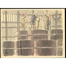 和田三造: Sake Distiller - Ohmi Gallery