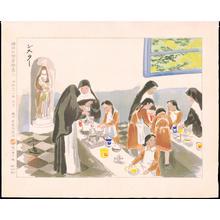 和田三造: Nuns - Ohmi Gallery