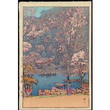 Yoshida Hiroshi: Arashiyama - 嵐山 - Ohmi Gallery