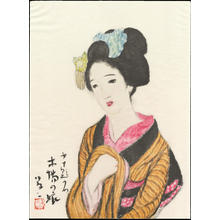 Takehisa Yumeji: Timberyard Daughter - 木場の娘 - Ohmi Gallery