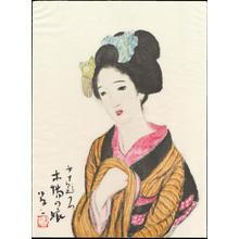 Takehisa Yumeji: Timberyard Daughter - 木場の娘 - Ohmi Gallery