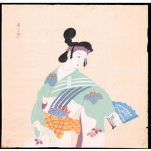 Yurimoto, Keiko: Fan Dance (1) - Ohmi Gallery
