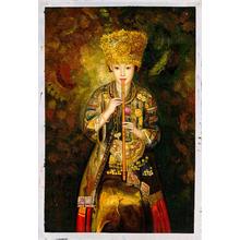Zhangbo: Hmong Culture Girl is Piping - Ohmi Gallery