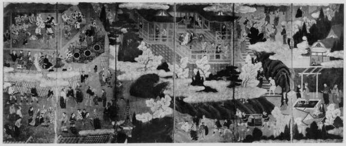 無款: (清水観桜図) - 立命館大学