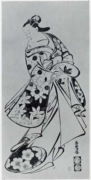Torii Kiyomasu I: (美人画) - Ritsumeikan University
