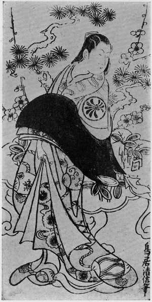 Kondo Kiyonobu: (瀬川菊之丞) - Ritsumeikan University