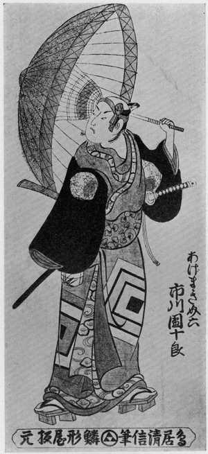 Kondo Kiyonobu: 「あげまき助六 市川団十郎」 - Ritsumeikan University
