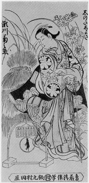 Kondo Kiyonobu: 「瀬川菊之丞」 - Ritsumeikan University