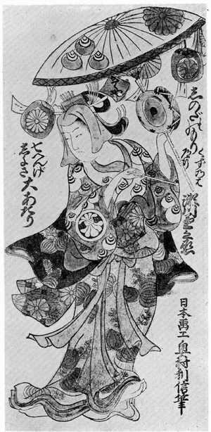 利信: 「篠田のもりくずのは道行 瀬川菊之丞」 - Ritsumeikan University