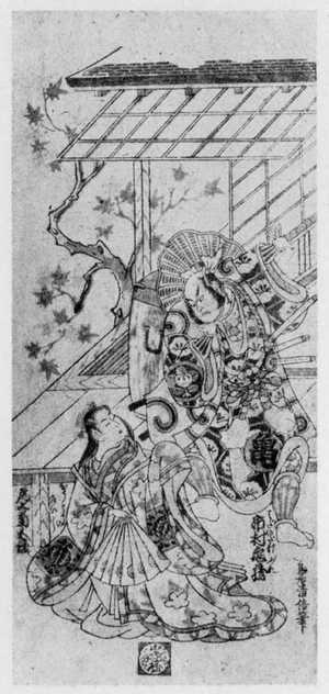 鳥居清信: 「尾上菊五郎 市村亀蔵」 - 立命館大学