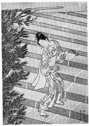 Suzuki Harunobu: (お百度) - Ritsumeikan University