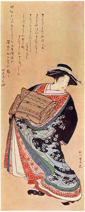 Utagawa Toyoharu: (傾城図) - Ritsumeikan University