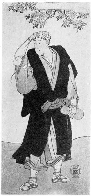 勝川春章: (尾上松助) - 立命館大学