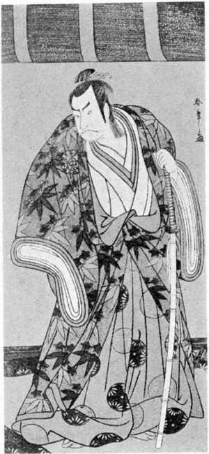 勝川春章: (中村仲蔵) - 立命館大学