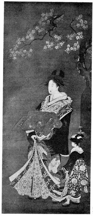 Utagawa Toyoharu: (四季美人 春) - Ritsumeikan University