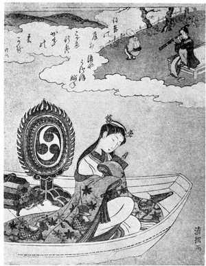 鳥居清経: (朝妻の図) - 立命館大学