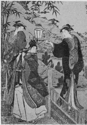 鳥居清長: (浄瑠璃姫館 左) - 立命館大学