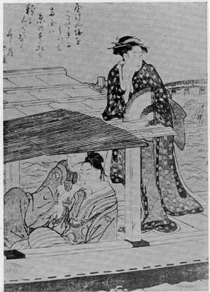 Kitagawa Utamaro: (両国の夏) - Ritsumeikan University