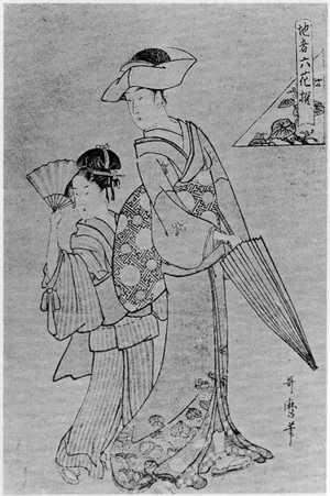 Kitagawa Utamaro: 「他者六花撰」 - Ritsumeikan University