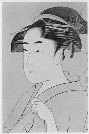 喜多川歌麿: 「ひらのや」 - 立命館大学