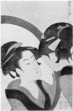 喜多川歌麿: 「姿見七人化粧」 - 立命館大学