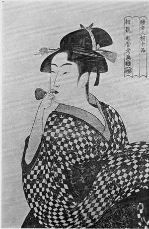 Kitagawa Utamaro: 「婦女人相十品」 - Ritsumeikan University