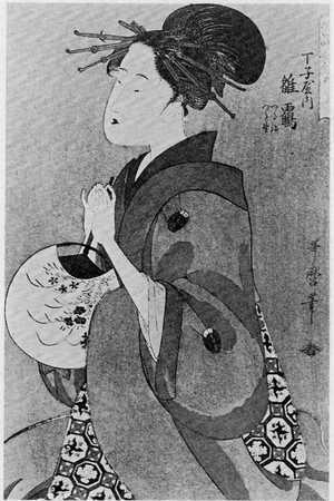 Kitagawa Utamaro: 「常時全盛美人揃」「丁字屋雛鶴」 - Ritsumeikan University