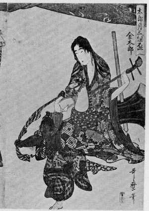 Kitagawa Utamaro: 「月花組盃 右」 - Ritsumeikan University
