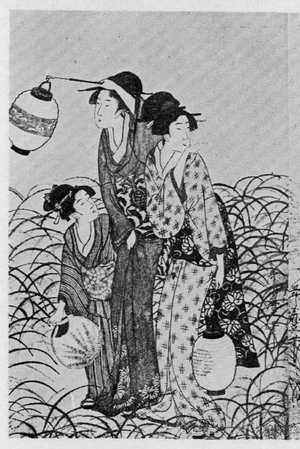 喜多川歌麿: (道行 左) - 立命館大学