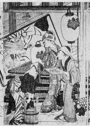 喜多川歌麿: (すヽ掃き 3) - 立命館大学
