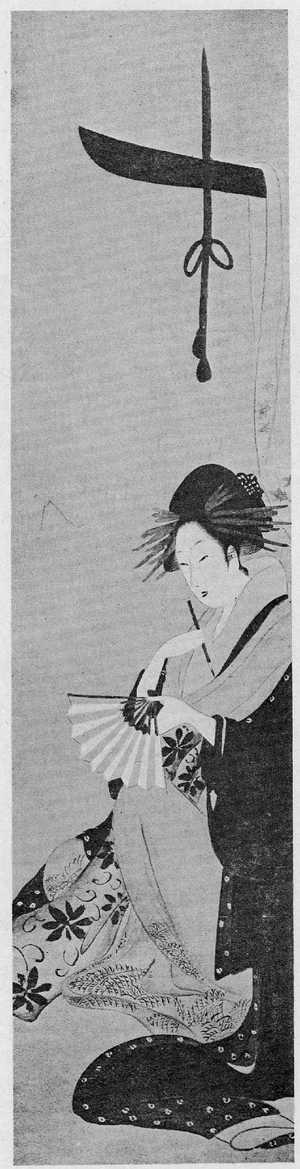 Ichirakutei Eisui: (美人題扇図) - Ritsumeikan University