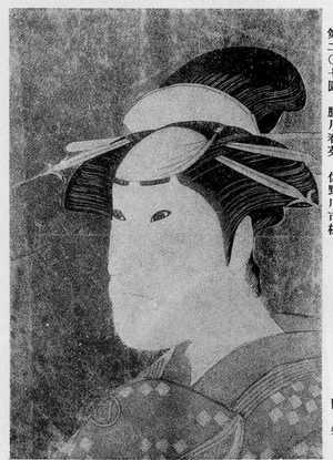 Katsukawa Shun'ei: (佐野川市松) - Ritsumeikan University