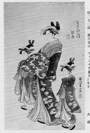 勝川春山: 「てうじや内雛鶴」 - 立命館大学