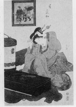 Utagawa Kunisada: 「春交加」 - Ritsumeikan University