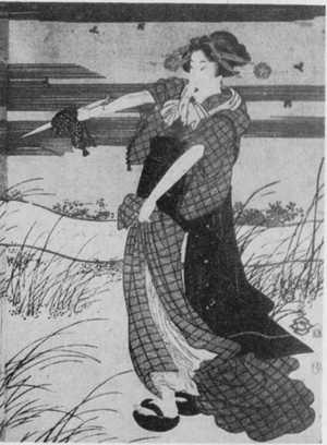 Utagawa Kunisada: (ほたるがり 右) - Ritsumeikan University