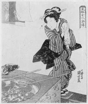 Utagawa Kuniyoshi: 「風俗女水滸伝」 - Ritsumeikan University