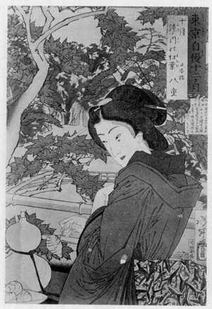 月岡芳年: 「東京自慢十二ヶ月」 - 立命館大学