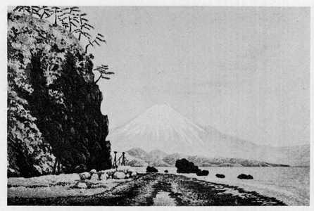 小林清親: (薩多の富士) - 立命館大学
