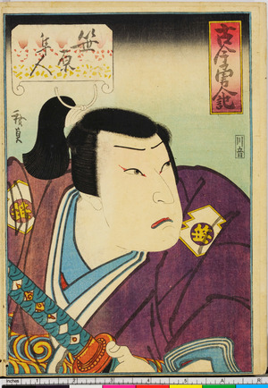 Utagawa Hirosada: 「古今勇人記」 - Ritsumeikan University