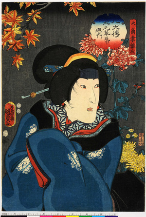 Utagawa Kunisada II: 「大角妻雛衣」「八犬伝犬之草紙廼内」 - Ritsumeikan University